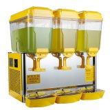 Dispensador comercial del zumo de naranja de China con los tres tanques