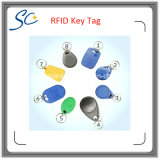 Дешевая бирка Lf 125kHz/Hf 13.56MHz RFID ABS ключевая с Multi цветом