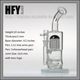 Bras Hfy Toro 11 perc Shisha fumer tuyaux à eau en verre