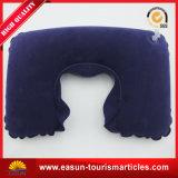 Almohadilla de base Shaped de la almohadilla del cuello del PVC de la almohadilla del aeroplano