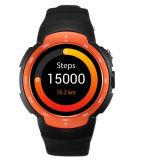 HDのカメラの心拍数のモニタ3Gのアンドロイド5.1のスマートな移動式腕時計の電話