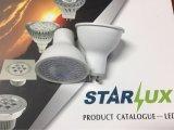 LED 전구 GU10 반사체 빛 LED 전구 램프