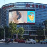 P8 Exposição a cores ao ar livre de vídeo a cores para promoção