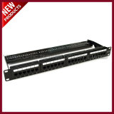 UTP CAT5E de 24 puertos Patch Panel de la red