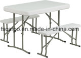 "Outdoor Used (CGT1624)를 위한 41 "" X 25 "" Plastic Folding Table와 Benches"
