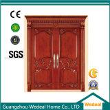 La puerta de entrada/puerta de madera para el proyecto (WDHO45).