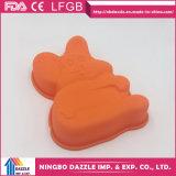 Moulages de gâteau de silicones de nouveauté de moulages de traitement au four de gâteau de bruit