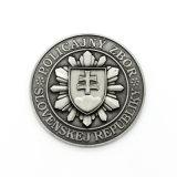 Moneta d'argento antica del ricordo di sfida di anniversario