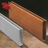 Baumaterial U-Form Streifen-Aluminiumleitblech-dekorative Decke