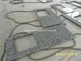 Dessus de vanité de salle de bains de granit de Giallo Oranmental