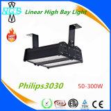 Qualidade superior 140lm/W 50W da Philips à luz elevada linear do louro do diodo emissor de luz do excitador de 300W Meanwell