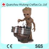 ギャラクシーGrootの樹脂の赤ん坊のGrootのアクション・フィギュア彫像の鮮やかな保護者