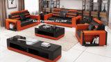 Nova sala de estar moderna sofá de couro do mobiliário Lizz Lz 2188