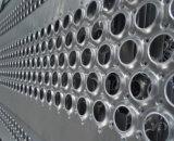 Feuille métallique perforée à plat en acier inoxydable, maillage métallique perforé