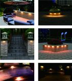 FCC/ETL Certifed 방수 LED Hardscape 빛