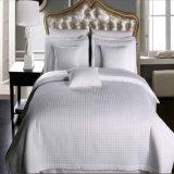 Coverlet Checkered de Microfiber do Quilt da HOME/hotel do Sell do hotel (DPF1074)