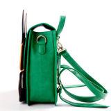 Poco zaino del sacchetto di banco del cuoio del sacchetto dell'unità di elaborazione di Rabit per gli allievi belli (SBB-013)
