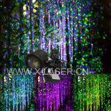 A decoração ao ar livre do Natal do feriado do jardim da luz da paisagem do laser ilumina a projeção