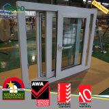 Resistente ao impacto de PVC janelas deslizantes de vidro laminado com rede mosquiteira