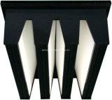 Mittlerer /HEPA-Filter der V-Bank Gasturbine für die Luft, die Gerät handhabt