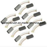 Escovas de carbono industriais do motor elétrico para vendas