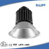 Plata o alta luz negra LED del taller de la bahía de 100W 120W Bridgelux