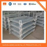 Jaula de acero logística del alambre del almacenaje del almacén