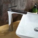 Furo do único punho do banheiro da torneira do Faucet da bacia do cromo de Flg único