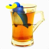 シリコーンのPlatypusの多彩な茶Infuserのかわいいカスタマイズされた整形シリコーンの茶漉し