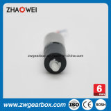 La reducción de velocidad 136 6mm Cabezal de engranaje en miniatura de plástico