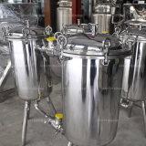 De sanitaire Machine van de Filter van het Vruchtesap van de Filter van het Roestvrij staal Duplex