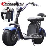 60V 1500W Gran Harley Citycoco Scooter eléctrico con batería extraíble fácil