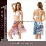 Moda Youth Girl Beach Skirt Dress Female Sexy Beachwear (T41168)