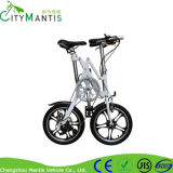 Peso leve bicicleta de dobramento Yzbs-7-16 de 16 polegadas