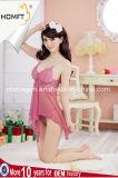 Venda por grosso de cor-de-Rosa Sexy pura Tulle Lingerie transparente à meia-noite a Lingerie Quente