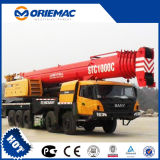 Sany Stc1250 판매를 위한 기중기 기중기 트럭을%s 가진 125 톤 트럭