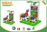 Крытая машина игры езды лошади спортивной площадки для взрослых и малышей