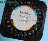 Corchetes de cerámica de Roth del monocristal ortodóntico de Denrum con el Ce FDA de la ISO