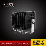 7.4 '' 120W IP67 Waterproof a luz do trabalho da inundação do ponto do diodo emissor de luz