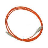 Sc al ponticello di fibra ottica multimoda Om3 dello Sc