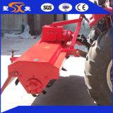 Máquina rotativa com lâminas largas para estrume