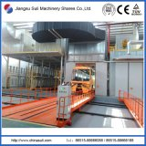 Plataforma de trabajo de vehículos de traducción eléctrica para la línea de producción de recubrimientos