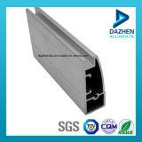 Perfil de alumínio da borda do gabinete de cozinha do fabricante do perfil com certificado do ISO