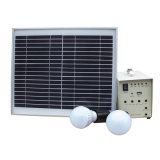 15W電気に欠けている領域のための小型ホーム太陽エネルギーシステム