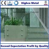 corrimano dell'acciaio inossidabile del contrappeso del supporto di vetro di 30mm