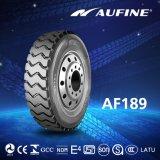 Estrada todo o pneu de aço do caminhão de Aufine (295/80R22.5)