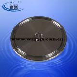 Capuchon sanitaires en acier inoxydable avec le trou