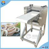 La boucle automatique de calmar de Chemise-Poissons élimine la trancheuse de coupeur de découpage découpant la machine en tranches de déchiquetage