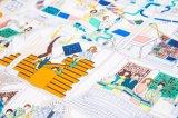Sciarpa di seta stampata marchio su ordinazione basso della fabbrica MOQ