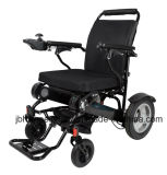 Small Compact Foldable Electric Wheelchair in Airplane